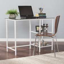 white desks for home office. Layton Metal/Glass Student Desk - White Desks For Home Office O