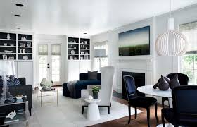 Navy Living Room Accents  Transitional  Living RoomNavy And White Living Room