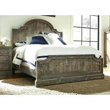 Distressed Wood Bed Frames Medium Size Of Platform Frame Colour ...