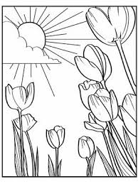 Small Picture Free Printable Spring Coloring Pages FunyColoring