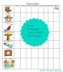 Household Cleaning Chore Chart Weekly Cleaning Charts Ronni Kaptanband Co