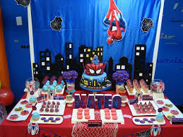 Spiderman Birthday Party Ideas In 2019 Boy Birthday Party Ideas