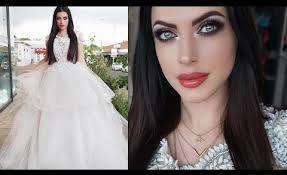 dramatic bridal makeup tutorial