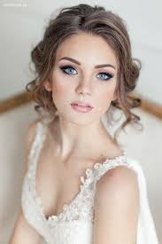 makeup ideas with white dress 8