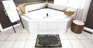 pebble bath rug mats