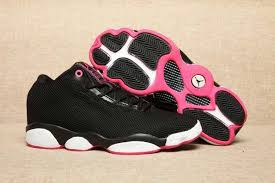 jordan shoes for girls black and pink. air jordan 13 low black pink girls womens jordans 13s basketball shoes sd180 for and f