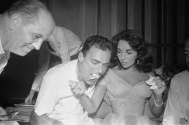 young debbie reynolds and elizabeth taylor. Contemporary Young Actress Elizabeth Taylor And Mike Todd At Their Wedding With Young Debbie Reynolds And