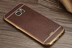 vaku samsung galaxy note 5 leather stiched gold electroplated soft tpu back cover