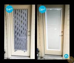 broken door glass repair
