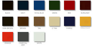 Color Charts Care The Canvas House