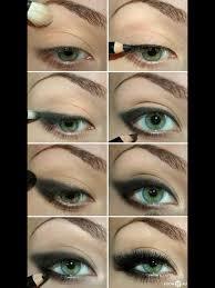 dark emo makeup