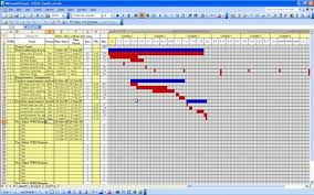 Free Downloadable Gantt Chart In Excel Excel Templates