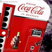 Coca Cola Bottle Vending Machine Unique History Of Coke Machines Synonym