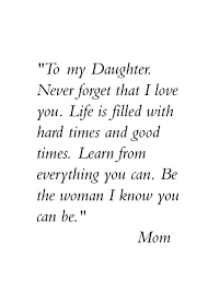 Mother Daughter Quotes Cool 48 Inspiring Mother Daughter Quotes