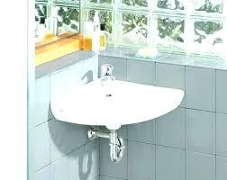 kohler corner sink antique pedestal faucet