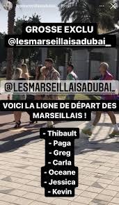 Les Marseillais à Dubaï : Le tournage débute enfin, les premières images de  l'aventure ont fuité