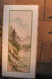 hey i found this really awesome listing at s com listing 217575327 anese chinese silk painting framed