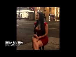 Gina Rivera - Entrevista en Hollywood - YouTube