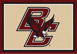 boston college eagles sports team rug