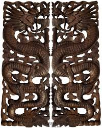 asian carved wall art