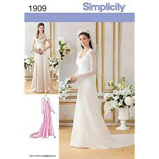 Wedding Dress Patterns To Sew New Wedding Dress Pattern For Sewing Amazon