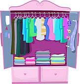wardrobe clipart. Interesting Wardrobe Furniture Pink Armoire Throughout Wardrobe Clipart A
