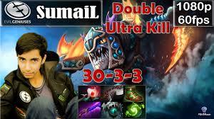 sumail eg slark pro gameplay double ultra kill safelane