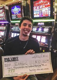 Par-A-Dice Hotel Casino - Winner, winner! Congratulations to Ethan ...