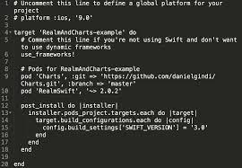 Danielgindi Charts Swift 3 Using Realm And Charts With Swift 3 In Ios 10 Sami Korpela
