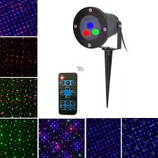 mini outdoor rgb dynamic laser projector stage party light lawn garden decor