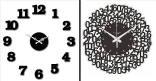 Small Picture 14 Trendy Wall Clocks That Can Easily Substitute Your Wall