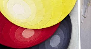 red blue and yellow rug designs