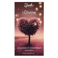 Палетка теней sleek makeup eyeshadow palette i divine 12 тонов 1030 goodnight sweetheart