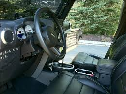 2010 jeep wrangler custom 4 door suv interior 138349