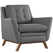 mid century modern loveseat. Modway Beguile Mid-Century Modern Loveseat Upholstered Fabric With And Armchair In Gray Mid Century
