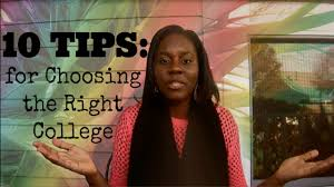10 tips for choosing the right college fatimasjourney 10 tips for choosing the right college fatimasjourney
