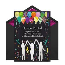 free 13th birthday invitations free dance party invitations girl birthday ideas dance party