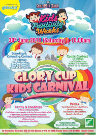 Kids Funtivity Weeks - Glory Cup Kids Carnival - Centre Point Sabah