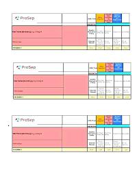 Sample Training Calendar Templates Choice Image Template Design