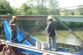 bridge cranford nj full lead abatement and 3 coat repainting of a 60 000 sf railroad bridge on walnut ave in cranford nj road closures and traffic