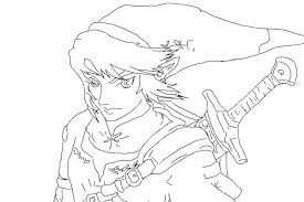 Mesmerizing Zelda Coloring Pages Legend Of Link Coloring Pages