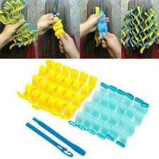 24 <b>Pcs Magic Long</b> Hair Curlers Hairstyle Curl Formers Leverage ...
