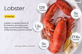 lobster nutrition facts and health benefits
