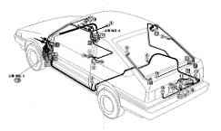 toyota corolla wiring diagram and electrical system 1983 toyota corolla wiring diagram cable routing electrical schematic wire harness