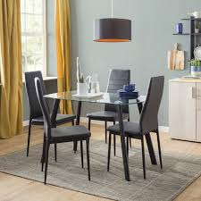 dining room table and chair sets. hillary dining set with 4 chairs room table and chair sets e