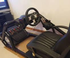 pvc racing simulator pod