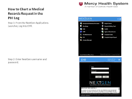 How To Chart A Medical Records Request In The Phi Log Ppt