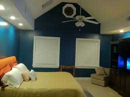 Large Bedroom Valspar Classic Teal So Glad We Went With A Dark Color In Our