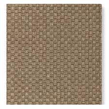 faux natural basketweave indoor outdoor rug chestnut grain williams sonoma