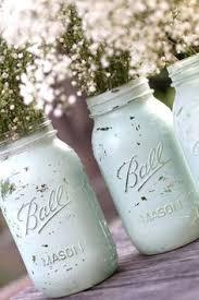 Blue Mason Jars Wedding Decor Robin Egg Blue Mason Jars for Shabby Chic Weddings Distressed 79
